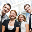 Happy office workers — Stock Photo #3781173