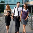 Group of office walk — Stock Photo #3845576
