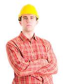 Portrait of worker — Stock Photo