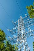 Elecrical tower — Stock Photo