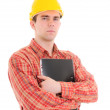 Portrait of worker — Stock Photo #3527872
