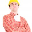 Portrait of worker — Stock Photo #3621530