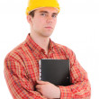 Portrait of worker — Stock Photo #3621534