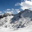 Stockfoto: Snowy mountain peak