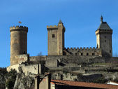 The castle of Foix — Stock Photo