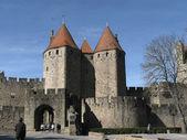 The castle Carcassonne. — Stock Photo