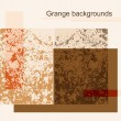 Grange backgrounds — Stock Vector
