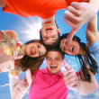 Happy boys and girls smiling — Stock Photo #2707695