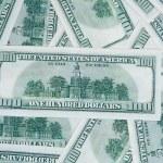 Background of American money. — Stock Photo