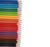 Ołówki w środowisku wiórów — Zdjęcie stockowe