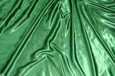 Suave elegante seda verde — Foto de Stock