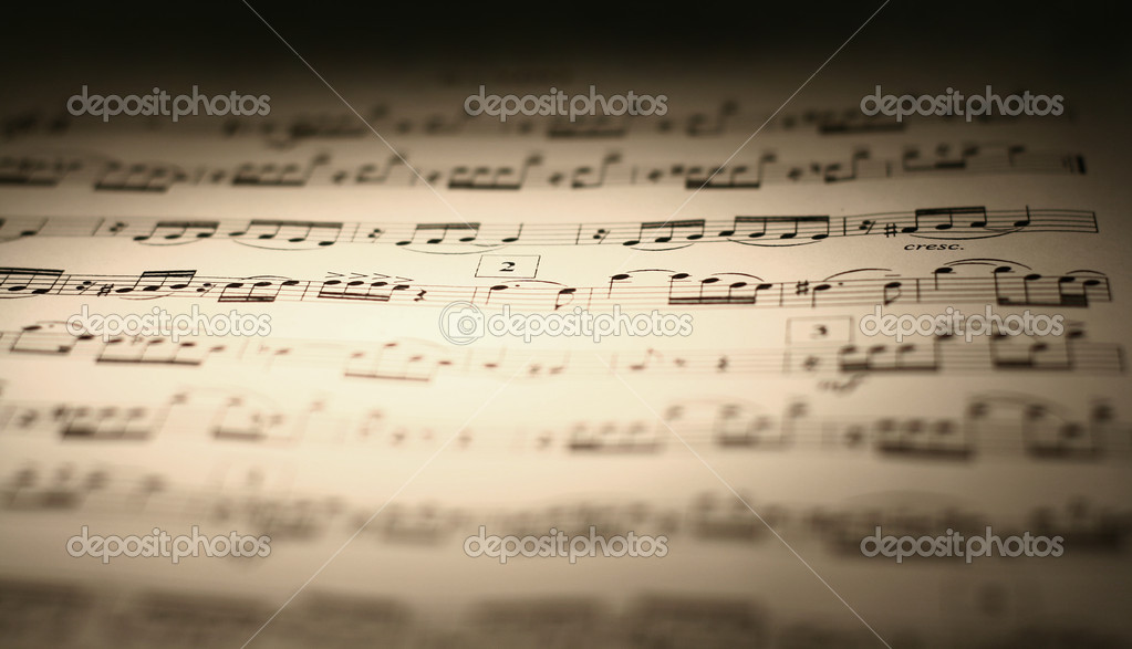 Music sheet — Stock Photo #2706686