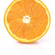A section of an orange — Stock Photo #2714988