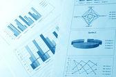 Diagrams — Stock Photo