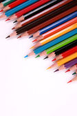 Color pencil isolated on white — Stock Photo