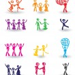 Set of icons — Stock Vector #3266787
