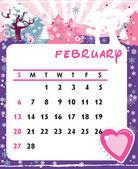 2 月 — 图库矢量图片
