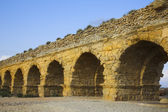 The aqueduct of the Roman period — Stock Photo