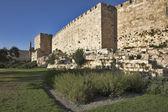 Ancient walls. — Stock Photo
