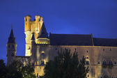 Alcazar in twilight — Stock Photo