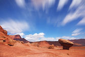 The grand panorama - a stone desert — Stock Photo