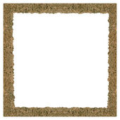 Decorative frame on white background — Stock Photo