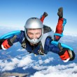 Royalty-Free Stock Photo: Skydiver