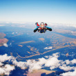 Stock Photo: Skydiver
