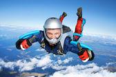 Fallschirmspringer — Stockfoto
