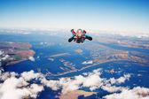 Skydiver — Stock Photo