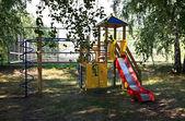 Children's sports corner — Stock Photo