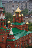 Russian Orthodox Church Domes — Stock Photo