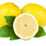 Fresh juicy lemons — Stock Photo