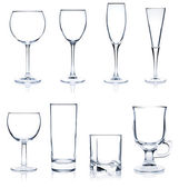Cocktail Glass collection — Stock Photo