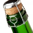 Champagne bottle neck — Stock Photo #3730215