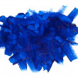Blue paint stroke — Stock Photo #2910041