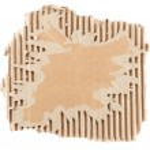 Brown corrugated cardboard — Stock Photo