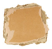 Brown corrugated cardboard — Stock Photo
