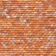 Stock Photo: Orange roofing background