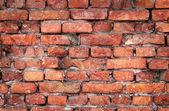 Vieux fond de mur de brique — Photo