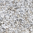 White stones texture - Stock Photo