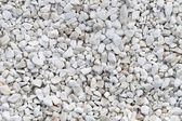 White stones texture — Stock Photo