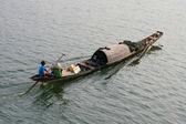 Vietnamese fishermen — Stock Photo