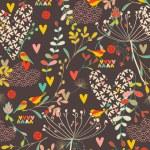 Spring Kimono VI — Stock Vector