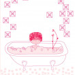 Royalty-Free Stock Vector Image: Bathtub Spa