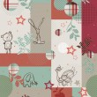 Vector de stock : Country Quilt II