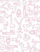 赤ちゃんのパズル — ストックベクタ