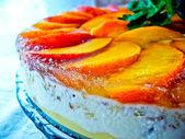Jellied fruit cake — Stock Photo