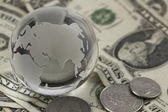 Global finances concept — Stock Photo