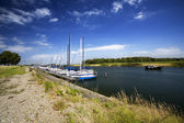 Small dutch harbour — Foto de Stock